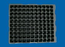 黑色电子吸塑托盘