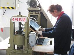 YX-505设备作业中